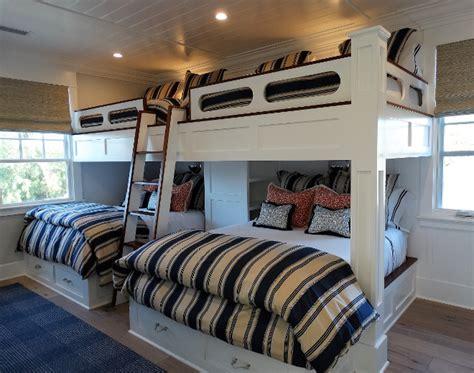 room bunk beds coronado island house with coastal interiors home bunch interior design ideas