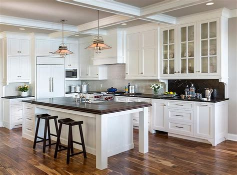 kitchen cabinets painted gray cottage kitchen gray painted coffer ceiling cottage kitchen