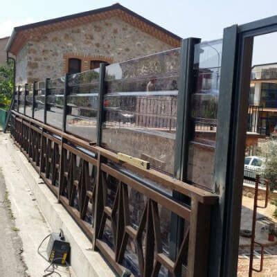 barriere antirumore per terrazzi recinsioni barriere antirumore in policarbonato nuova