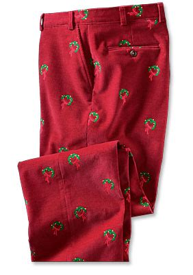 men s corduroy pants embroidered holiday bozeman cords