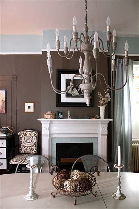 dining room benjamin fairview taupe and woodlawn blue omg the paint