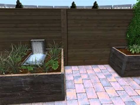 steenschotten gamma achtertuin familie weststrate met plantenbakken van