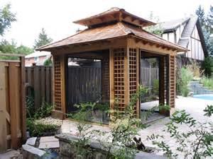 Japanese Gazebo Custom Cabanas Garden Sheds Sheds Gazebos Studios