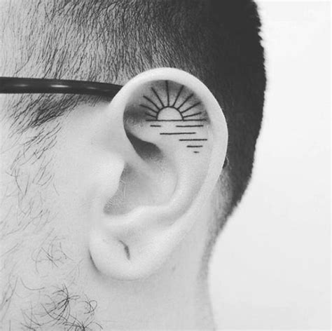 listen up 90 unisex ear tattoo designs
