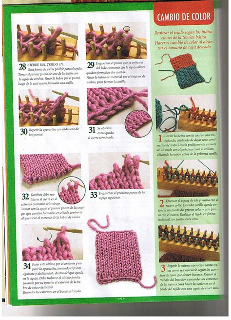 how to use a rectangular knitting loom loom knitting stitches page 04 by chacha1 loom