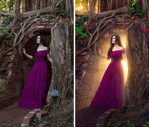 Photoshop Magic Or The Weirdest Photo by 8 Steps To Adding Lighting With Photoshop