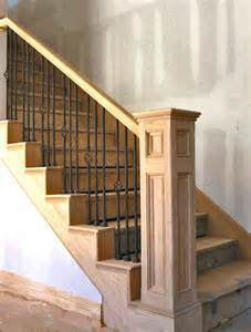 wrought iron banister spindles stairways