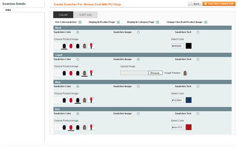 Easy Color Swatches Templates Master Template Master Magento