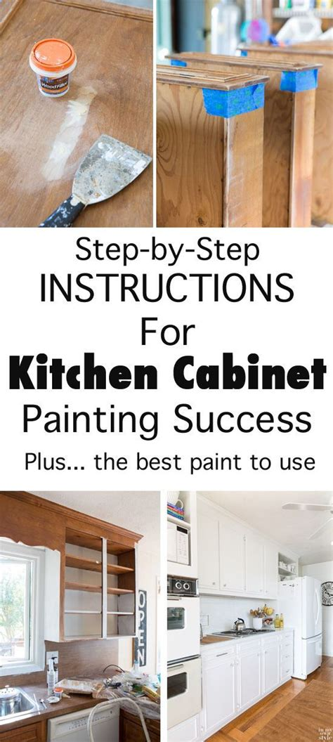 diy kitchen makeover how to paint cabinets inmyownstyle ultimate diy kitchen makeover tutorial how to paint