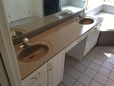 refinish bathroom countertop countertop refinishing
