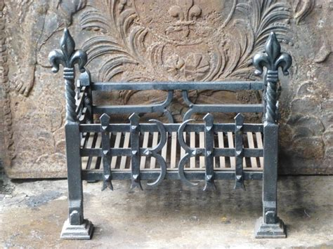 Vintage Fireplace Grate by Antique Fireplace Grate Basket Traditional