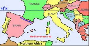 South Europe Map by Pics Photos Southern Europe Map With Capitals