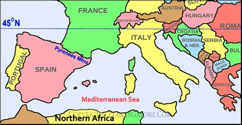 southern europe map southern europe map with capitals images