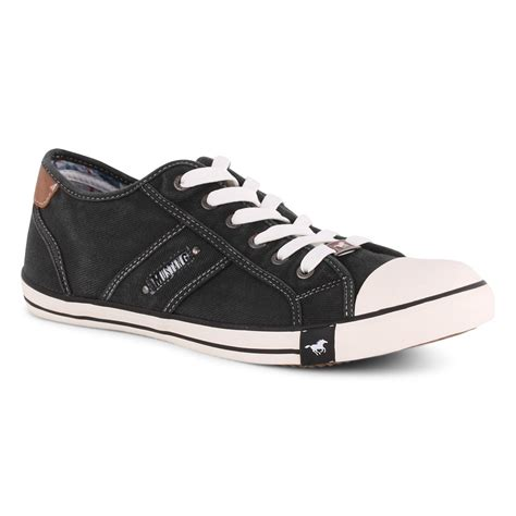 trainers c 5 6 9 mustang 4058305 9 mens trainers in black white