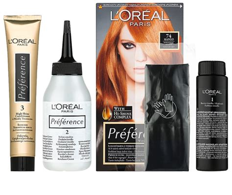 coloration meche cheveux l oreal l or 201 al pr 201 f 201 rence coloration cheveux notino fr