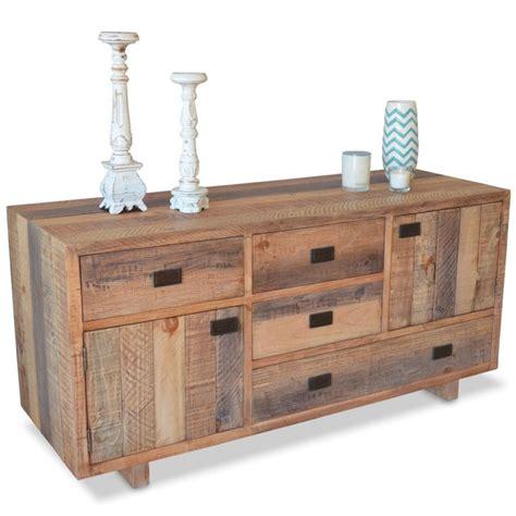 industrial sideboard rustic industrial sideboard buffet recycled timber buy