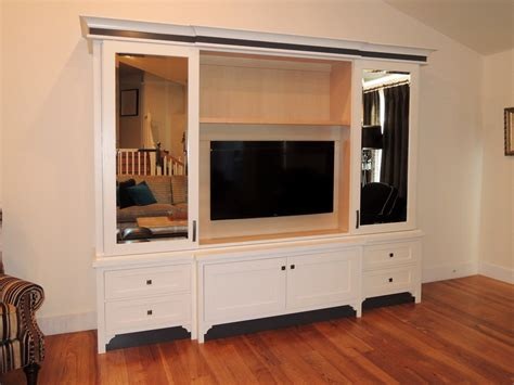 tv doors pottery barn furniture diy tv stand media