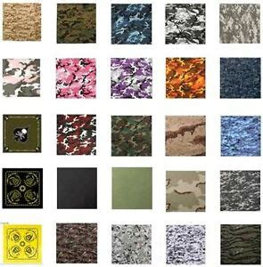rothco bandana choice  camo colors size