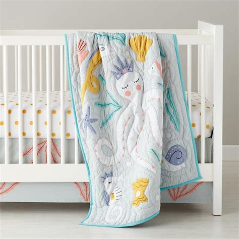 seahorse crib bedding baby bedding marine octopus crib bedding the land