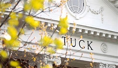 Tuck Mba Acceptance Rate by Tuck Hits New Annual Giving Record