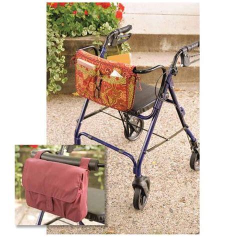 free pattern walker bag kwik sew wheelchair walker carryall bag 3927 pattern