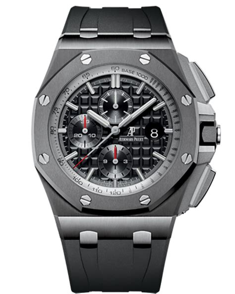 Audemars Piguet Roo Black Silver sihh 2014 audemars piguet royal oak offshore chronograph