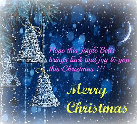 lucky jingle bells  love  joy  merry christmas wishes ecards