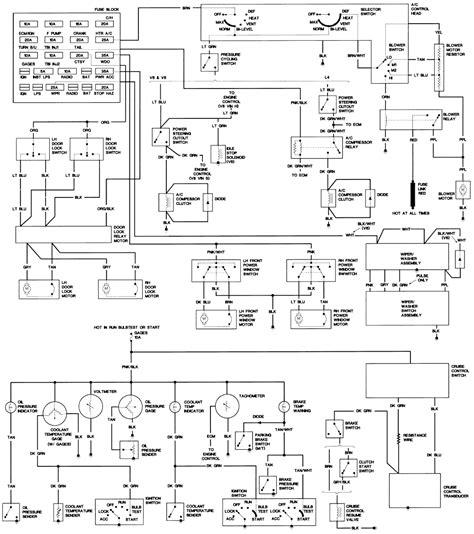 1983 firebird headlight wiring diagram get free image