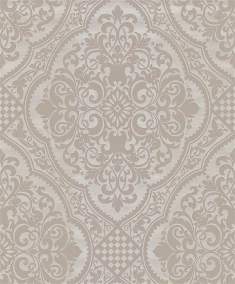 wallpaper traditional classic century classic lacey damask wallpaper grey offwhite