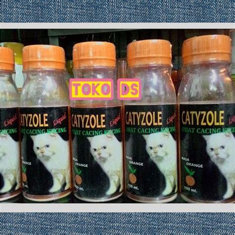 Obat Cacingan Untuk Kucing jual catyzole liquid obat cacing untuk kucing toko ds