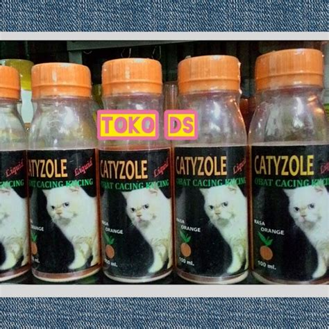 Berapa Obat Cacing Untuk Kucing jual catyzole liquid obat cacing untuk kucing toko ds