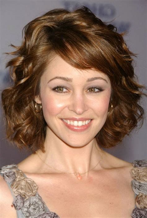 short hairstyles  thick wavy hair  hairstyle