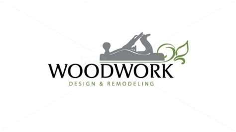Woodwork Logo Inspiration Traditional