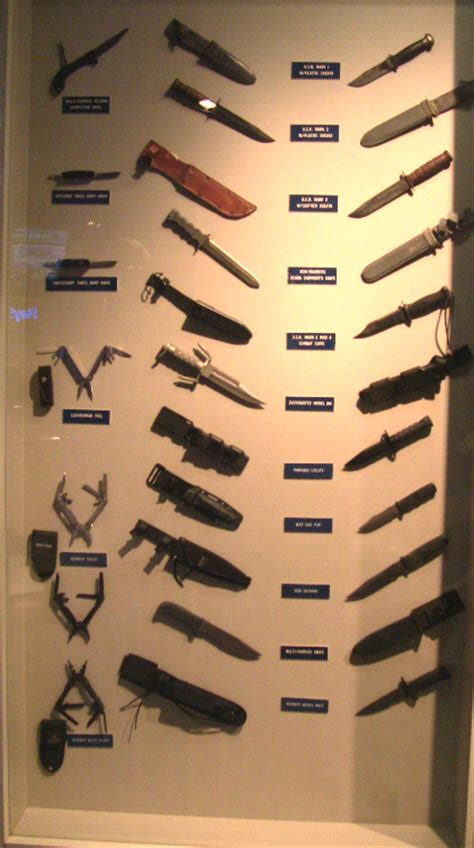knives used by navy seals u s navy seal weapons navy seal museum national navy