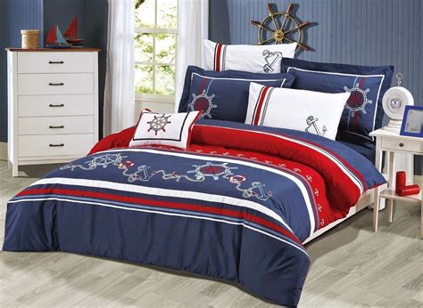 nautical bedding bedroom decor ideas and designs top nautical sailor themed bedding sets