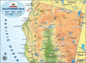 map de california map of california united states usa map in the