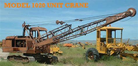 Used Marion Northwest Amp Link Belt Equipment Parts For