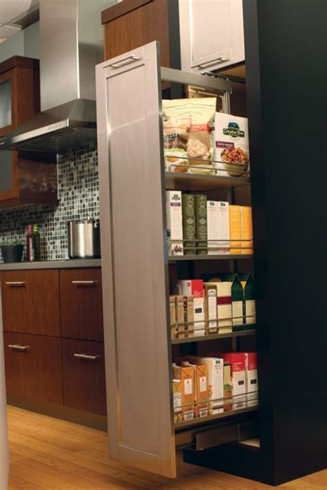 Roll Out Pantry Cabinet by 21 Clever Ways To Maximize Kitchen Cabinet Storage