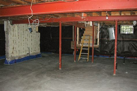 lowering a basement floor jlc basement