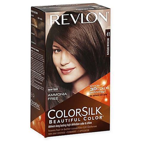 revlon colorsilk beautiful color 41 medium brown hair color buy revlon 174 colorsilk beautiful color hair color in 41