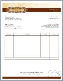 artist invoice template part 2