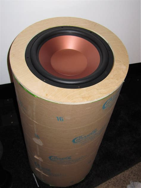 klipsch driver stuffed   sonotube page  home
