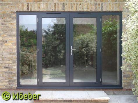 Grey Aluminium Patio Doors by 25 Best Ideas About Aluminium Doors On