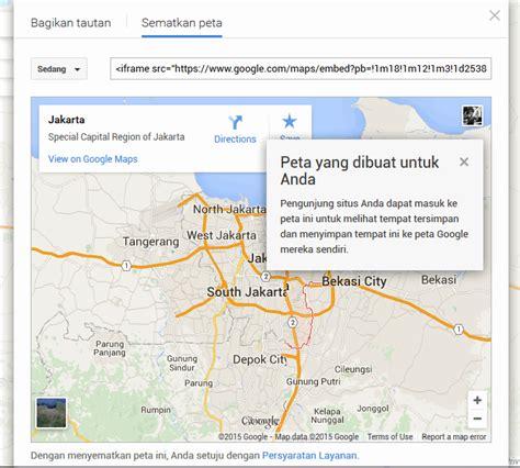 membuat akun google maps cara mudah memasang google maps di website atau blog pro