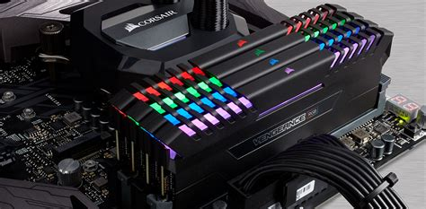 ddr4 ram with led lights review corsair vengeance rgb 32gb ddr4 3000