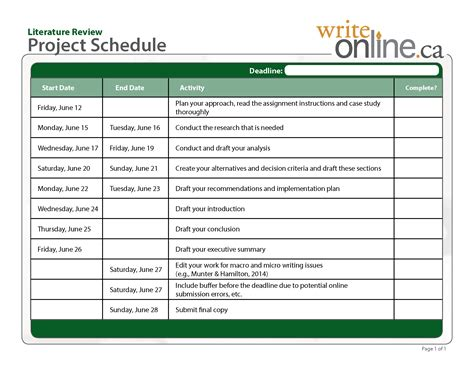 Literature Review Plan Exle by Write Literature Review Writing Guide Planning And Researching