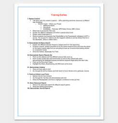 outline template word course outline template 24 free for word pdf
