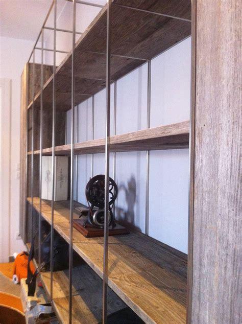 libreria alluminio libreria alluminio legno segala arredamenti