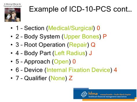 icd 10 sections hfma 1 21 11 on 5010 and icd 10