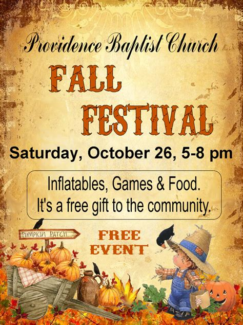 7 best images of free fall festival flyer fall festival